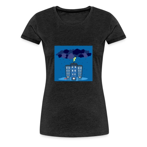 onweer-jpg - Vrouwen Premium T-shirt