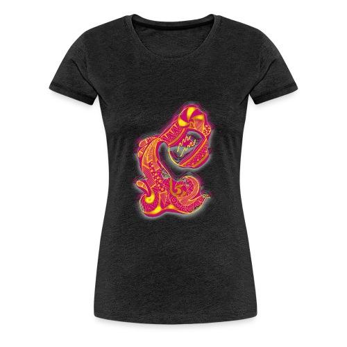 Aquarius Sign Water Vase - Women's Premium T-Shirt
