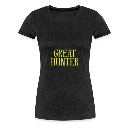 great hunter - Koszulka damska Premium