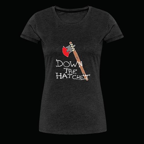 DTH Axe logo T-Shirt - Women's Premium T-Shirt