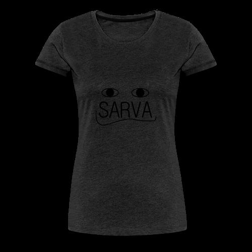 face of SARVA - Frauen Premium T-Shirt