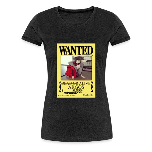 #dóndeestáargos ARGOS ver.wanted - Camiseta premium mujer