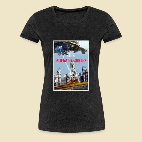 PLAZA DE CIBELES - Camiseta premium mujer