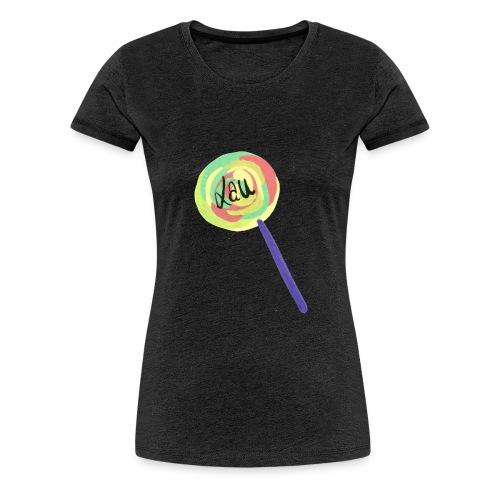 Lauuu Lollipop - Women's Premium T-Shirt