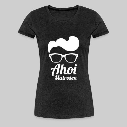Küsten Hipster Matrose weiss - Frauen Premium T-Shirt