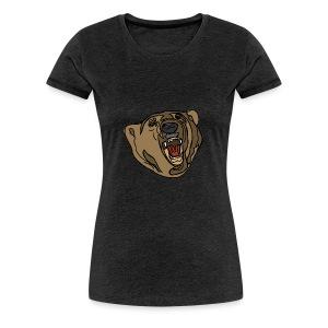 beer sweater (grey) - Vrouwen Premium T-shirt