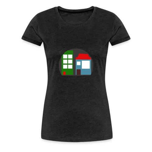 Minetopia T-Shirt - Vrouwen Premium T-shirt