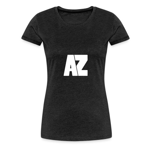 Androklez White Text - Women's Premium T-Shirt