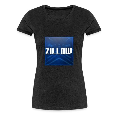 Zillow Logo - Women's Premium T-Shirt