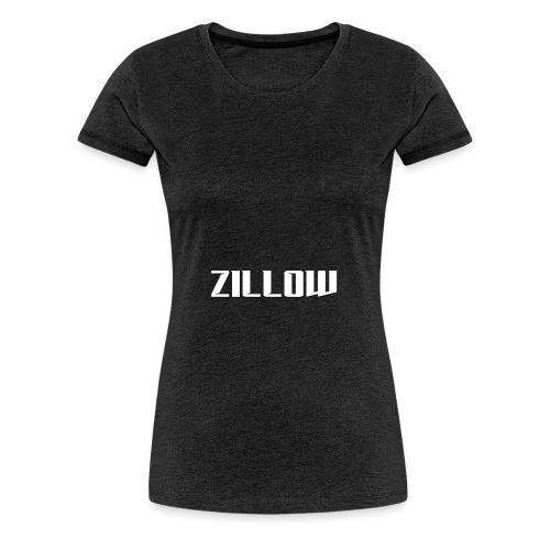 Zillow - Women's Premium T-Shirt