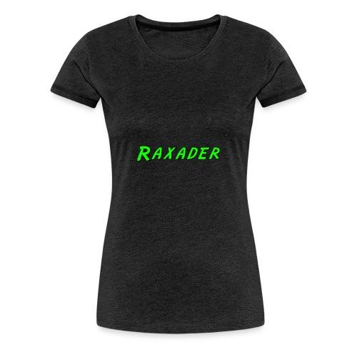 Raxader Original - Women's Premium T-Shirt