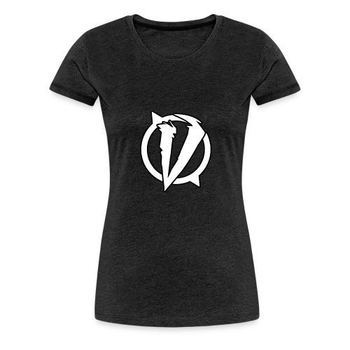 VaroX Logo Weiß - Frauen Premium T-Shirt