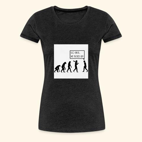 Evolution - Women's Premium T-Shirt