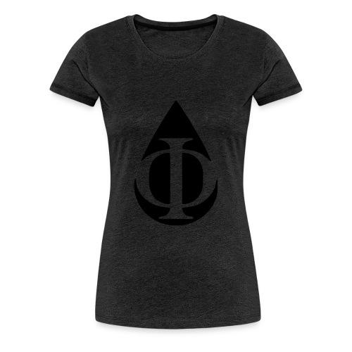 AquaPhi Logo (no-txt) - Women's Premium T-Shirt