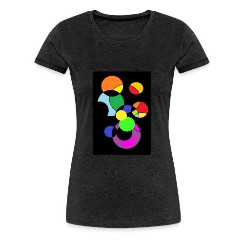 circles - Camiseta premium mujer
