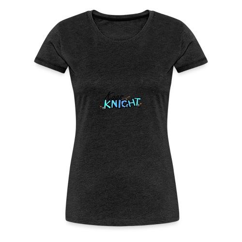 kaosknight Schriftzug by BirukDesign - Frauen Premium T-Shirt