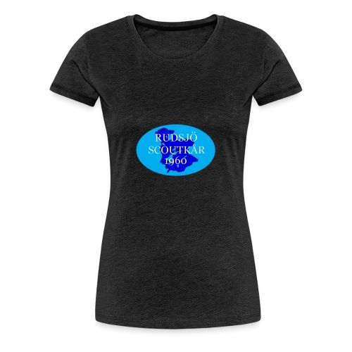 rudsjo_rund_transparant - Premium-T-shirt dam