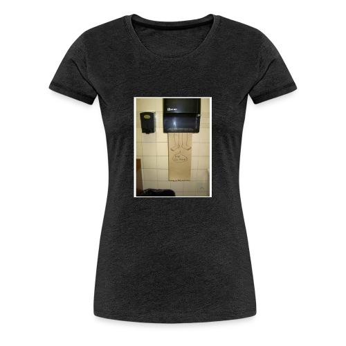 Stuck in the paperholder - Premium-T-shirt dam