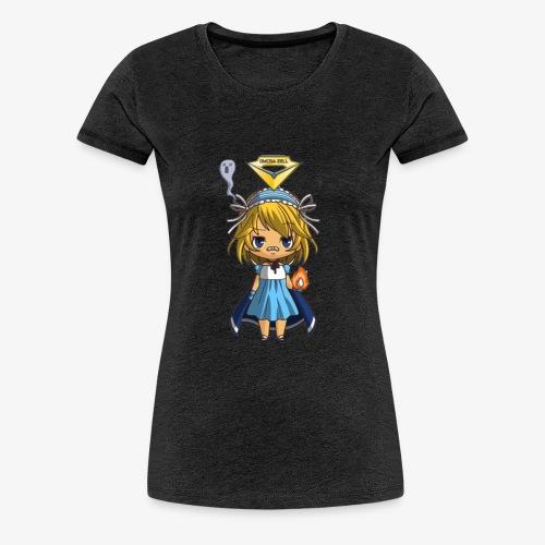 T.Shirt Chibi Oméga Zell Fille By Calyss - T-shirt Premium Femme