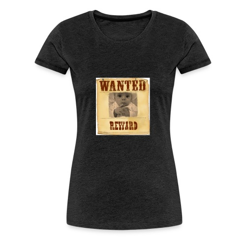Wanted-Reward - Maglietta Premium da donna