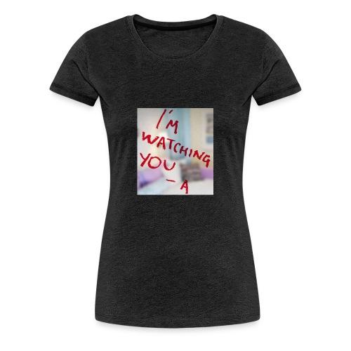 sam-sung galaxy s6 (I am watching you case) - Vrouwen Premium T-shirt