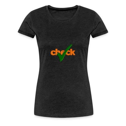 Verificado - Camiseta premium mujer