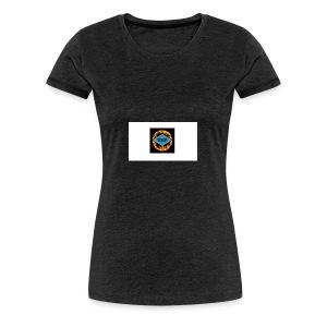 Mangler du et logo? - Dame premium T-shirt