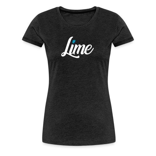 lime - Frauen Premium T-Shirt