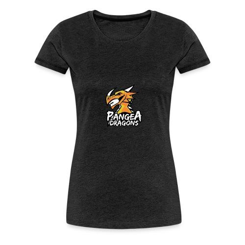 PanGea Dragons - Yellow - Frauen Premium T-Shirt