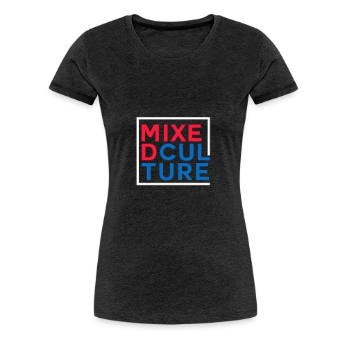 Mixed Culture Box White - Vrouwen Premium T-shirt