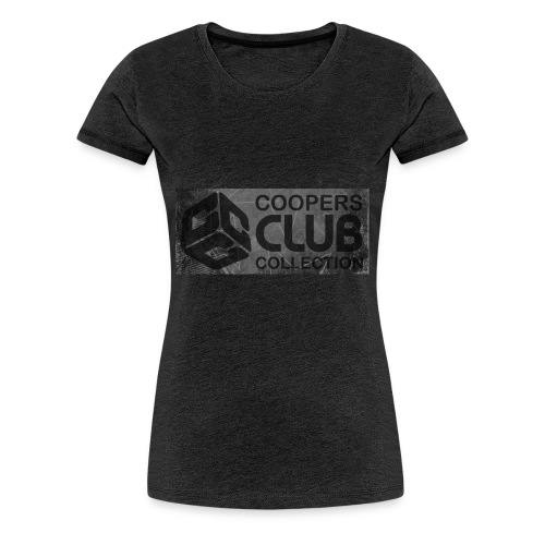Coopers Club Collection distressed logo - Women's Premium T-Shirt