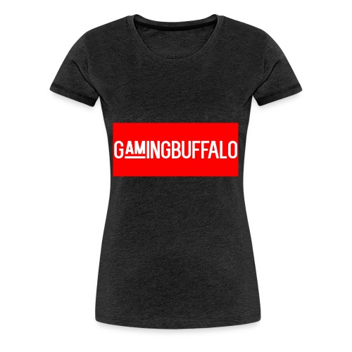Long Logo RED - Women's Premium T-Shirt