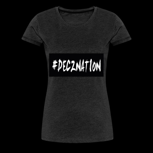 DECZNATION - Women's Premium T-Shirt