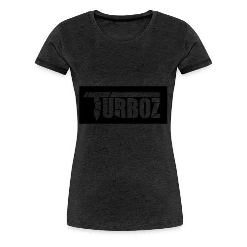 Black Turboz Background - Women's Premium T-Shirt