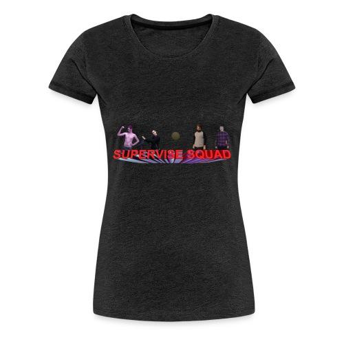Quinton Reviews Supervise Squad - Women's Premium T-Shirt