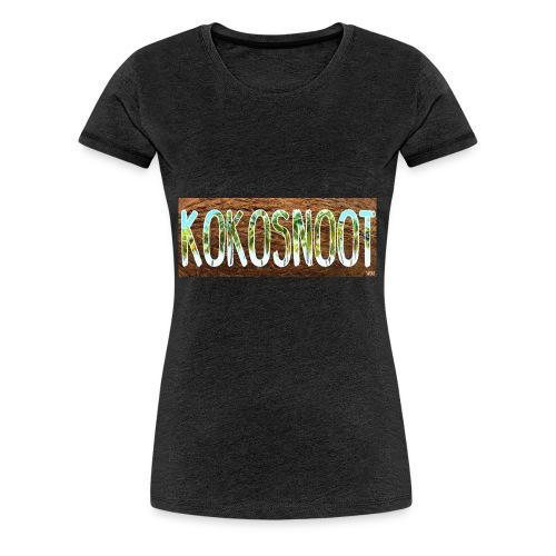 Kokosnoot - Vrouwen Premium T-shirt