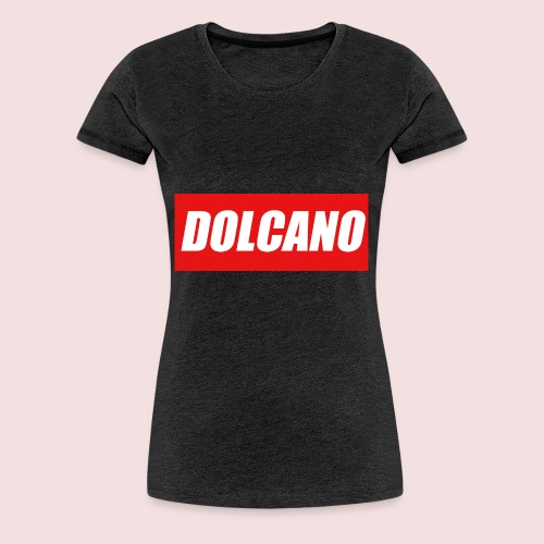 DOLCANO Box Logo Short Sleeved T-Shirt. - Women's Premium T-Shirt