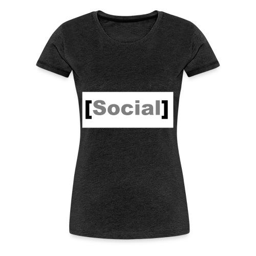 SocialMoods - Frauen Premium T-Shirt