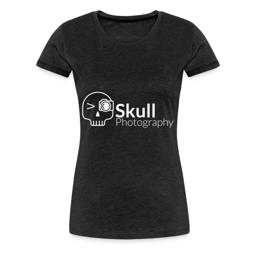 Skull Photography Weisses Logo - Frauen Premium T-Shirt