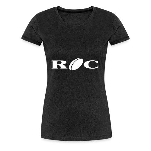 ROC-blanc - T-shirt Premium Femme