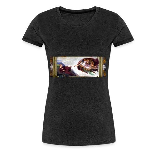 Björns skapelse - Premium-T-shirt dam