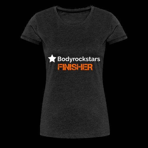 Bodyrockstars Finisher Women - Frauen Premium T-Shirt