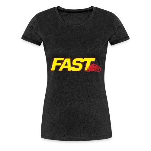 Fast_6 - Maglietta Premium da donna
