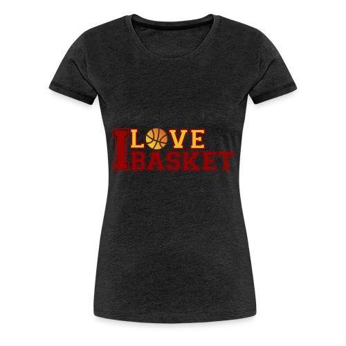 Love-Basketball - Frauen Premium T-Shirt
