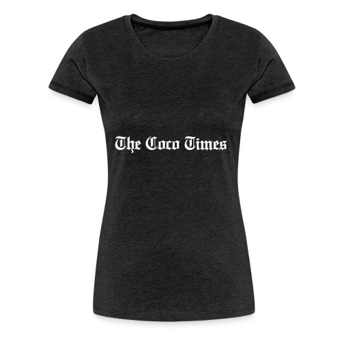 thecocotimes-wht - T-shirt Premium Femme