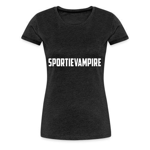Sportievampire - Women's Premium T-Shirt