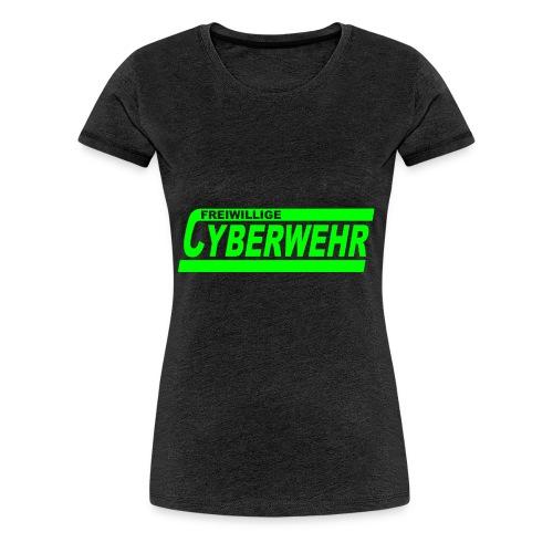 Cyberwehr Dienstkleidung - Frauen Premium T-Shirt