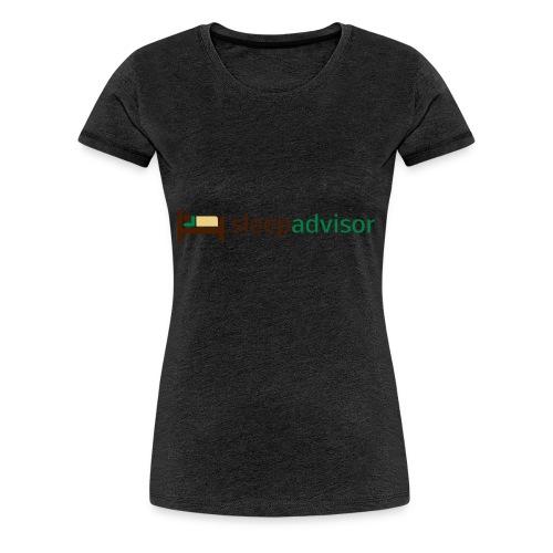 SleepAdvisor - Maglietta Premium da donna