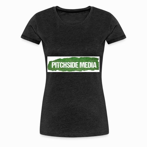 Pitchside media Mug - Women's Premium T-Shirt