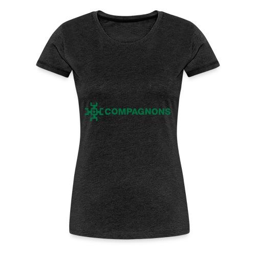 Branche Compagnons - T-shirt Premium Femme